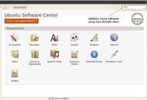 Ubuntu Software Center 300x205 Daftar Software Wajib Di Ubuntu